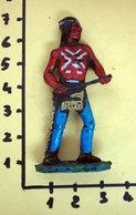 SOLDATINO WEST INDIANO VINTAGE  PLASTICA MORBIDA - Figurines