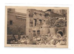 CPMJ1748 SYRIE-DAMAS- PALAIS AZEM (INSTITUT FRANCAIS ) RUINES APRES LES EVENEMENTS D OCTOBRE 1925 - Syrië