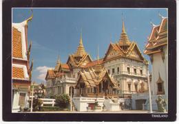°°° 13429 - THAILAND - BANGKOK - THE GRAND PALACE - 1994 With Stamps °°° - Tailandia