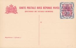 Nederland - 1921 - 12,5+12,5 Op 5+5 Cent Bontkraag, Briefkaart G155 I - Ongebruikt - Ganzsachen