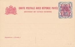 Nederland - 1921 - 12,5+12,5 Op 5+5 Cent Bontkraag, Briefkaart G155 II - Ongebruikt - Ganzsachen