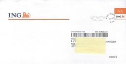Enveloppe ING - PP - Imitation Oblitération - Bélgica