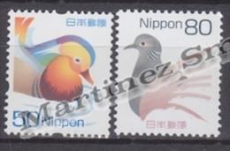 Japan - Japon 2007 Yvert 4224-25, Definitive, Birds -  MNH - 1989-... Kaiser Akihito (Heisei Era)