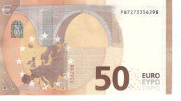 Banknote Of 50 Euro. Renaissance. Netherlands PB. P006 Cliche Code. UNC. 2017 - EURO