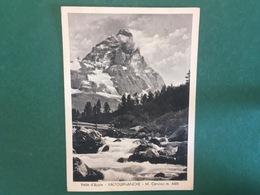 Cartolina Valle D'aosta - Valtournanche - M.Cervino - 1953 - Non Classificati