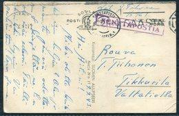 1943 Finland Kenttapostia Faltpost Postcard - Finland
