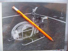Foto ELICOTTERO HELICOPTER SUD AVIATION ALOUETTE II - Aviation