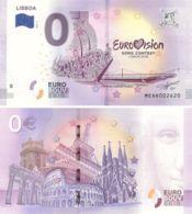 Banknote 0 EURO. 2018. UNC. Portugal. Lisbon. Eurovision. Variety 2 - EURO