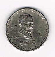 ¨¨  MEXICO  500  PESOS  1986 - Mexique