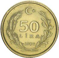 Turkey 50 Lire 1989 AU-UNC - Turkije
