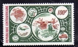 REPUBBLICA CENTRAFRICANA CENTRAFRICAINE CENTRAL AFRICAN REPUBLIC 1976 UPU DAY 100f MNH - Repubblica Centroafricana