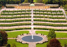 1 AK Germany * Potsdam - Blick Auf Schloss Sanssouci Mit Terrassenanlage - Luftbild - Seit 1990 UNESCO Weltkulturerbe * - Potsdam
