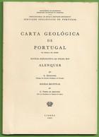 Alenquer - Carta Geológica De Portugal + Mapa - Geographical Maps