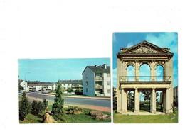 Lot 2 Cpm - 78 - La Celle Saint Cloud - Domaine De Beauregard - Place Comte De Bendern - 1974 - Immeuble - La Celle Saint Cloud