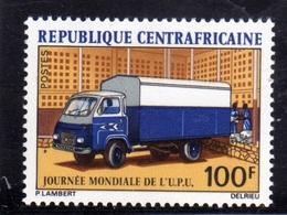 REPUBBLICA CENTRAFRICANA CENTRAFRICAINE CENTRAL AFRICAN REPUBLIC 1972 UPU DAY 100f MNH - Repubblica Centroafricana