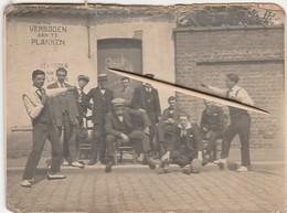 Knocke, Knokke, Strooihotel,1924, 11X8 Cm, Fotokaart, 2 Scans - Knokke