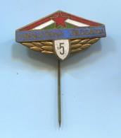 Vendeglatoipari Hungary - Catering, Vintage Pin, Badge, Abzeichen, Enamel - Trademarks