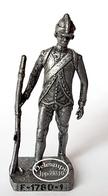 Figurine Métal KINDER : Soldat Français F - 1780 -1 - Metal Figurines