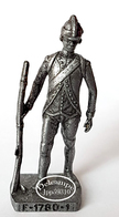 Figurine Métal KINDER : Soldat Français F - 1780 -1 - Figurines En Métal