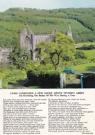 AN29 Tintern Abbey And Poem By Wordsworth - Old Mini - Monmouthshire