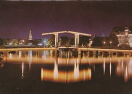 AN29 Amsterdam, Magere Brug Over De Amstel - Nightview - Amsterdam