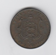 Jersey Coin QV One Thirteenth Of A Shilling 1/13d Dated 1861 - Jersey