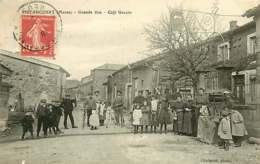 290719 - 55 RIBEAUCOURT Grande Rue Café Urbain - Puits Enfant Vélo - France