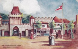AP60 The Toffe Shop And Village, Earls Court Exhibition 1908 - Esposizioni