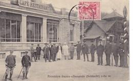 Frontière Franco-Allemande (Schlucht) 1130 M. - Zoll