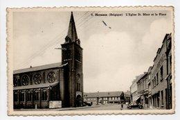 - CPA HERSEAUX (Belgique) - L'Eglise St. Maur Et La Place - Edition Leseultre-Wallez N° 6 - - Belgique