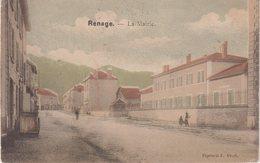RENAGE : La Mairie . ( Colorisée ) - Renage