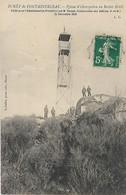 77, Seine Et Marne, FONTAINEBLEAU, Pylone D'Observation Au Rocher Bruler, Scan Recto Verso - Fontainebleau