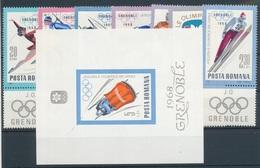 1967. Romania - Olympic Games - Winter 1968: Grenoble