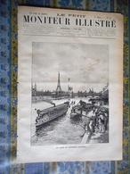 LE PETIT MONITEUR ILLUSTRE 02/06/1889 EXPOSITION UNIVERSELLE PARIS JULES COUTAN INVALIDES PONT IENA TOUR EIFFEL RESTAURA - Zeitungen