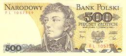 500 Zloty Polen UNC (I) 10982 - Pologne