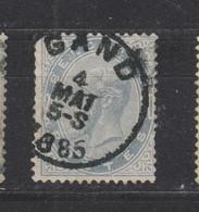 COB 39 Oblitération Centrale GAND - 1883 Léopold II