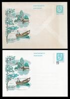 FINLAND 1975 Postal Stationery: Set Of 2 Postcards MINT/UNUSED - Ganzsachen