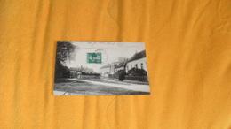 CARTE POSTALE ANCIENNE CIRCULEE DE 1908.../ ST LAURENT EN BRIONNAIS.- LA PLACE..CACHETS + TIMBRE - Francia