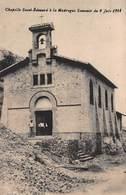 CPA - Chapelle Saint-Edouard à La Madrague - Souvenir Du 9 Juin 1914 - Quartiers Sud, Mazargues, Bonneveine, Pointe Rouge, Calanques