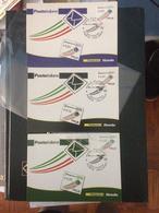 03 CARTOLINE FILATELICE 2010 - MAXI CARD - POSTA ITALIANA DA 0,05 - 0,10 - 0,20 € - 6. 1946-.. Repubblica