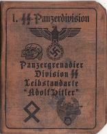 DOCUMENT III Reich. Nazi WW2 Germany.not Original - Documenti
