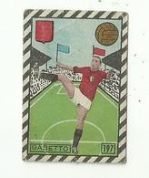 """4971 """"GABETTO-GRANDE TORINO-FIGURINA EDIZIONE CICOGNA-MILANO 1948-1949""""   ORIGINALE - Trading Cards"""