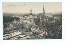 Veurne Furnes Vue Générale De La Grand Place ( Gekleurd ) - Veurne