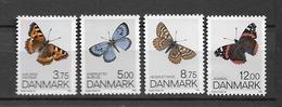 1993 MNH Danmark, Michel 1048-51 Postfris** - Danimarca