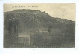 Flemalle Haute Les Rochers ( Convoi Sur Le Chemin De Fer à L'avant Plan ) - Flémalle