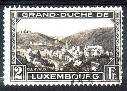 Luxembourg 1928 - N° 208 Obl.  Vue De Clairvaux - Gebraucht