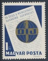 Hungary Ungarn 1971 Mi 2693 A YT 2176 SG 2610 ** 25th Ann. Int. Organisation Journalists / Int. Journalisten-Verband - Hongarije