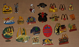 Lot De 24 Pin's McDonald's / Mac Donald's - McDonald's