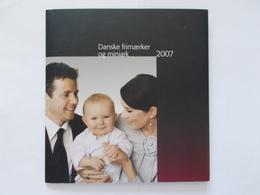 DANEMARK  -  Pochettes Annuelle    Année 2007    Neuf XX ( Voir Photo ) - Denemarken