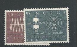 1965 MNH Norwegen, UIT, Postfris - Norvegia